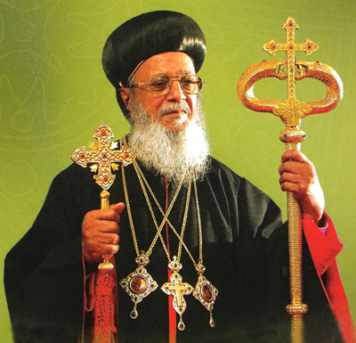 His Beatitude Baselios Thomas I – Catholicos & Maphriyano -Metropolitan Trustee of the Syriac Orthodox Church in India